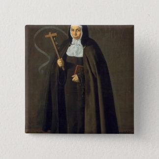 Madre Maria Jeronima de la Fuente, 1620 Button