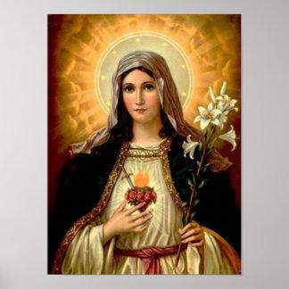 Madre Maria, madre de la Virgen Santa de la