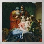 Madre Maria y bebé Jesús Impresiones