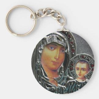 Madre Maria y bebé Jesús Llaveros