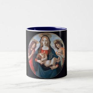 Madre Maria y taza de Jesús del bebé
