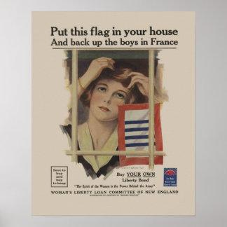 Madre militar WW2 del enlace de la libertad del vi Impresiones