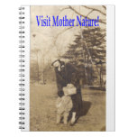 Madre naturaleza #2 de la visita libro de apuntes