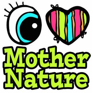 Madre naturaleza brillante del amor del corazón I  Esculturas Fotograficas