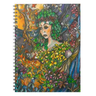 Madre naturaleza del cuaderno de Thompson Kellett
