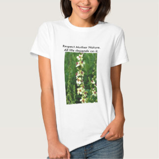 Madre naturaleza/reserva del respecto nuestra camisas
