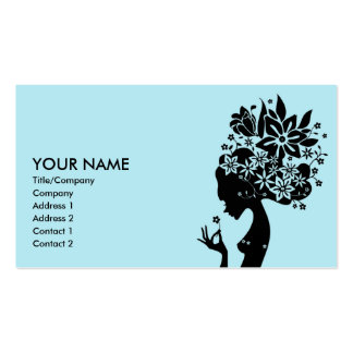 madre naturaleza tarjetas de visita