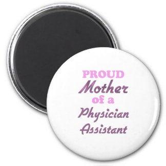 Madre orgullosa de un ayudante del médico imán de nevera