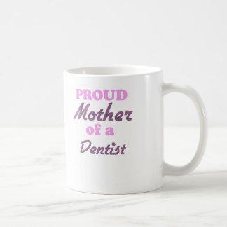 Madre orgullosa de un dentista tazas