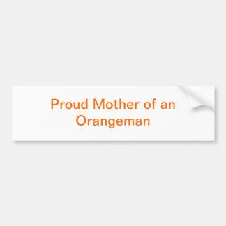 Madre orgullosa de una pegatina para el parachoque pegatina para auto