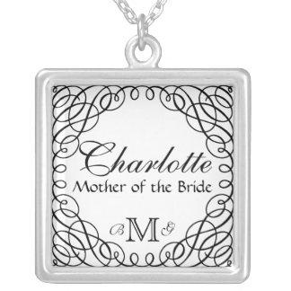 Madre personalizada personalizado del collar de la
