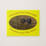 Madre protectora puzzles con fotos