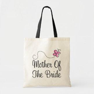 Madre rosada linda de la bolsa de asas del regalo