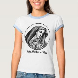 Madre santa de la camiseta del personalizado de playera