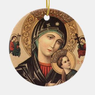 Madre santa de Maria de dios Ornamentos De Reyes Magos