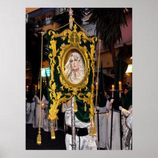 Madre santa Maria, Ramos Domingo, Marbella, España Impresiones