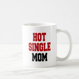 Madre soltera caliente taza