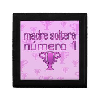 Madre Soltera Número 1 Cajas De Recuerdo