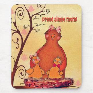 madre soltera orgullosa alfombrillas de raton