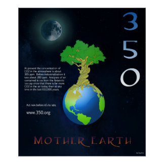 Madre tierra 350 posters