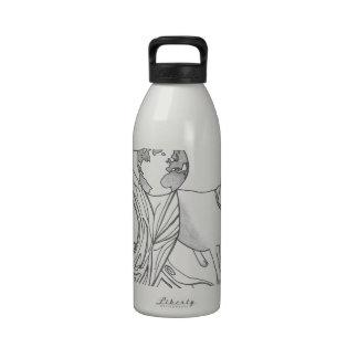 Madre tierra botella de agua