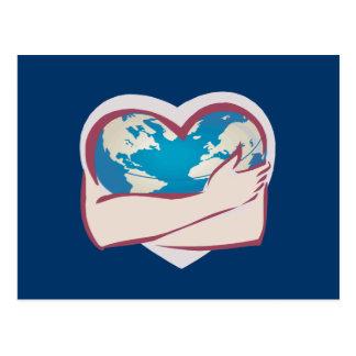 Madre tierra del amor tarjeta postal