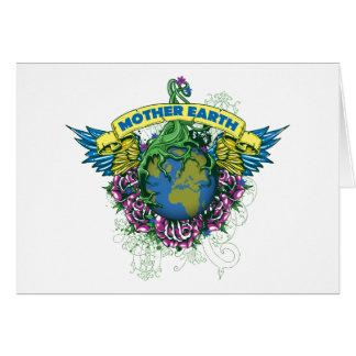 Madre tierra tarjeta