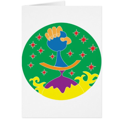 madre tierra tarjeta de felicitación