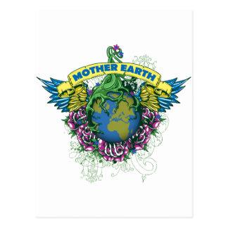 Madre tierra tarjeta postal