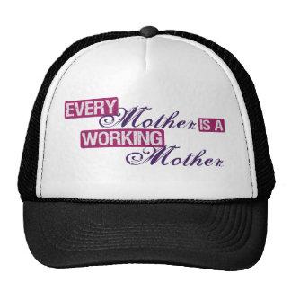 madre trabajadora gorras de camionero