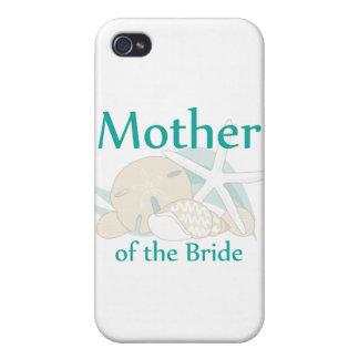 Madre tranquila de los Seashells de la novia iPhone 4/4S Carcasa