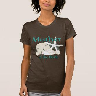Madre tranquila de los Seashells de la novia Camisetas