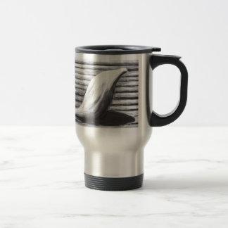 Madre triste camino de su casa arte del simbolism taza de café