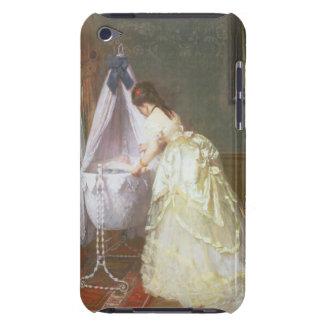 Madre y bebé, 1869 (aceite en el panel) Case-Mate iPod touch carcasa