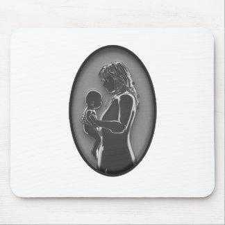 Madre y bebé - broche NUEVO Fashoined viejo Tapetes De Raton