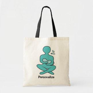 Madre y bebé de amamantamiento bolsas lienzo