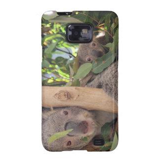 Madre y Chila - koalas Galaxy SII Fundas