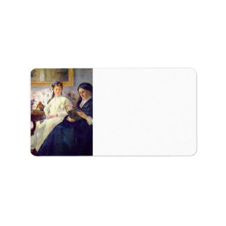 Madre y hermana del artista de Berthe Morisot Etiquetas De Dirección