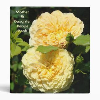 ¡Madre y libro de la receta de las hijas! Carpeta