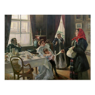 Madre y madrastra nativas de Vladimir Makovsky- Postales