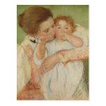 Madre y niño, 1897 postal