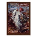 Madre y niño de Daumier Honoré Felicitacion