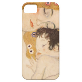 Madre y niño de Gustavo Klimt iPhone 5 Fundas