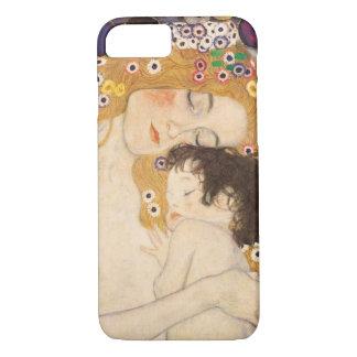 Madre y niño de Gustavo Klimt Funda iPhone 7