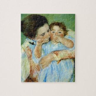 Madre y niño de Maria Cassat Rompecabeza