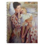 Madre y niño de Mary Cassatt Libretas