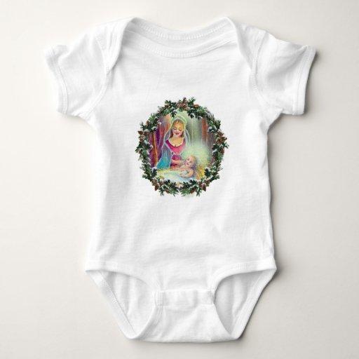 MADRE y NIÑO en GUIRNALDA de SHARON SHARPE Body Para Bebé