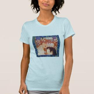 Madre y niño por Klimt Playera