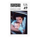 Madre y niño sello