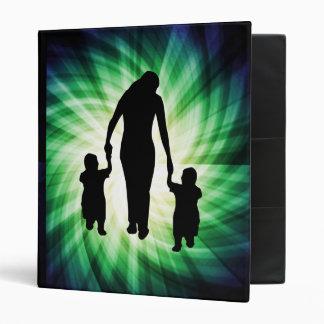 """Madre y niños; Refresque el diseño Carpeta 1"""""""